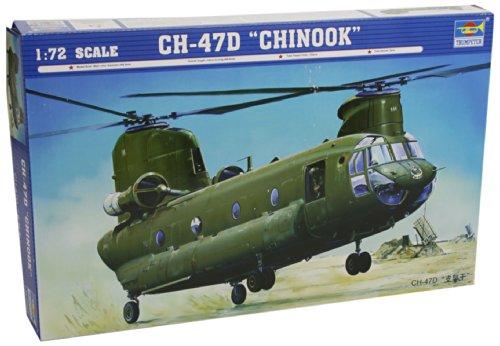 Faller trumpeter 01622 - modellino da costruire, elicottero pesante da trasporto ch 47d chinook