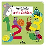 Krabbelkäfer - Erste Zahlen | Pappbilderbuch für Kinder ab 2 Jahren | Zahlen von 1 bis 10
