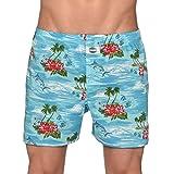 Deal Boxershorts für Herren Hawai Motiv Größe M