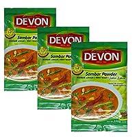 Devon Foods Sambar Powder Masala 100 Grams (Pack of 3)