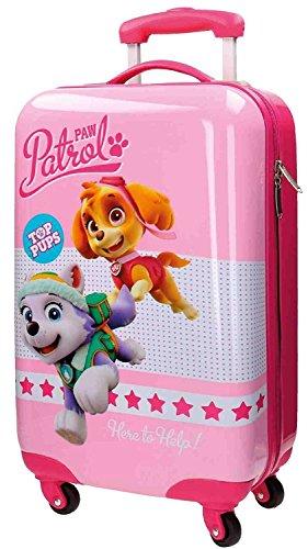 la-patrulla-canina-top-pups-maleta-de-cabina-55-cm-33-litros-rosa