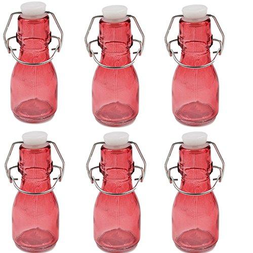 che mit Schwingdeckel-Pink (Swing-top-glas-flaschen)