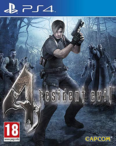 Resident Evil 4 HD - PS4 Standard Edition inkl. aller DLC's (Ps2-survival-spiele)