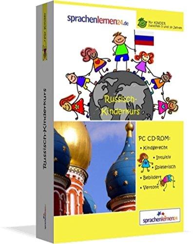 Russisch-Kindersprachkurs von Sprachenlernen24: Kindgerecht bebildert und vertont für ein...