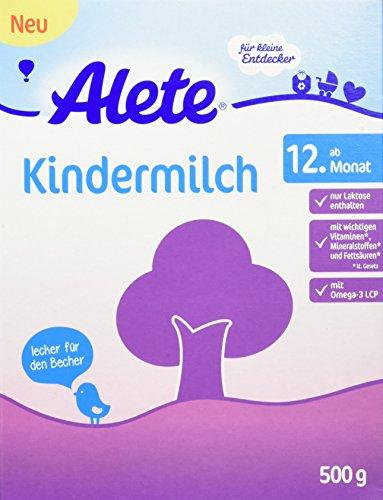 Alete Kindermilch, 4er Pack (4 x 500 g)