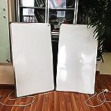 2pcs eléctrico calentador de infrarrojos 600W súper fino (1cm) infrarrojo lejano calefacción panel