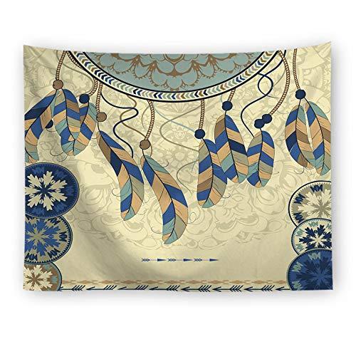 Tapices Tapiz Atrapasueños De Tela Decorativa De Fondo Alfombra De Pared Colgar La Tela Toalla De Playa Cortina,150X229 CM