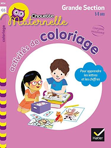 Activités de coloriage GS par Marie-Françoise Mornet