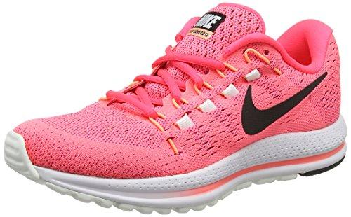 Nike air zoom vomero 12, scarpe running donna, arancione (lava glühen/schwarz-racer rosa-glühender sonnenuntergang), 37.5 eu