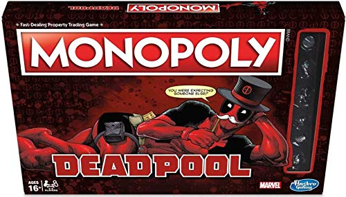 Deadpool Monopoly erfüllt Das Monopoly-Spiel, es ist EIN Perfektes - Monopoly Deadpool