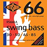 Rotosound Stainless Steel Light Gauge Roundwound Bass Strings (30 50 65 85)