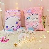 MIAOOWA Official Store Tasche 8pcs Flamingo Bunny Kleine Spielzeug Plus Japanische Anime Charakter Puppe Kreative Pad Sina Morol Kissen 50 x 40 cm 8pcs rosa Hund