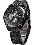 CURREN Expedition Analogue Black Dial Me...