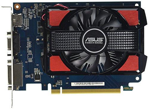 Asus 90YV06K0-M0NA00 GeForce GT 730 Grafikkarte (PCI-e 2.0 x16, 2GB DDR3-Speicher, VGA, DVI, HDMI)