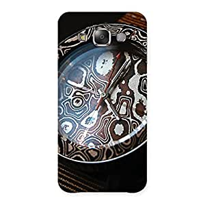 Royal Wrist Watch Multicolor Back Case Cover for Galaxy E7