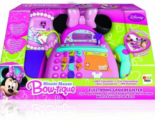 Opiniones de imc toys caja registradora minnie con micro y escaner 43 180154 comprar en amazon - Caja registradora juguete el corte ingles ...
