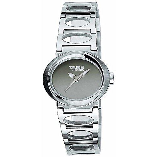 Reloj Breil Tribe Unisex 6819250472clásico Silver Pink