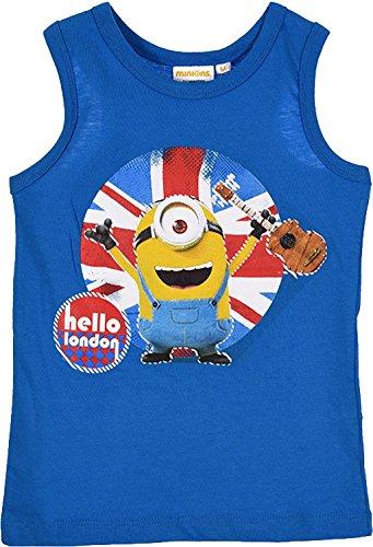 Universal Studios Minions Ich Einfach Unverbesserlich Tanktop T-Shirt in Blau Gr. 98