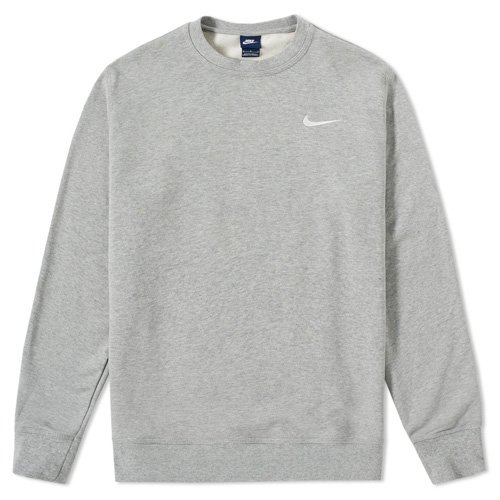 Nike - Felpa da uomo Club FT Crew, Uomo, NIKE CLUB FT CREW, Grau, XL