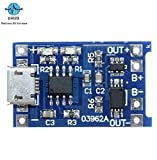 #9: eHUB Micro USB 5V 1A 18650 TP4056 Lithium Battery Charging Module Board with Protection