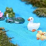 Bestim incuk Miniatur-Tiere Welt Fairy Garden Ornament Puppenhaus Blumentopf Figur DIY Decor Home Dekoration Duck