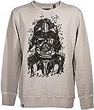 GOZOO Star Wars Classic Sweater Herren Darth Vader Pencraft Oat Meal S