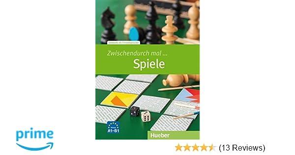 Zwischendurch mal Spiele: Deutsch als Fremdsprache/Kopiervorlagen ...