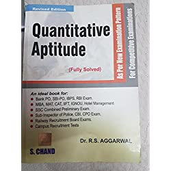 Quantitative Apititude for Competitve Exams by RS aggarwal