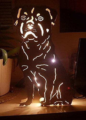 Rottweiler Lampe (Pet-lampe)