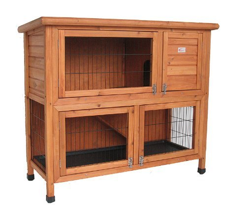 Bunny Business Double Rabbit Hutch (41 inch)