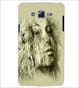PrintDhaba Girl Design D-2922 Back Case Cover for SAMSUNG GALAXY ON 5 (Multi-Coloured)