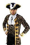 Kostüm Edelmann Pirat Kapitän Barock Herren Gr. 48 -
