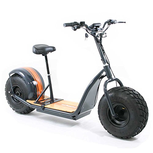 Forca KnuMo 'Offroad' Pro SXX 60V 1500W FAT-WHEEL E-Scooter Grey-Orange