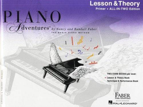 Piano adventures all in two primer level piano (Faber Piano Adventures)