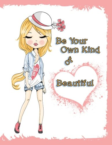 Be Your Own Kind of Beautiful: Address Book, Large Print, 8 1/2