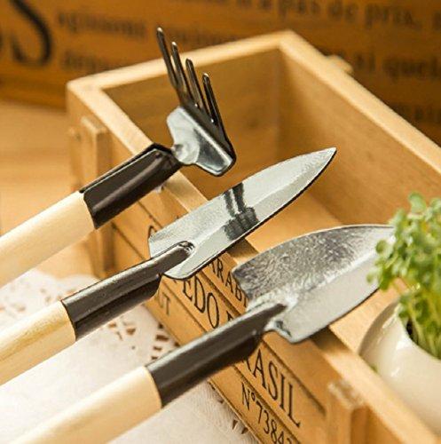 G-Motions - Kit de mini herramientas de jardín, 3piezas, set de jardinería fácil