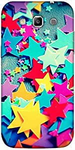 Snoogg Stars Colourful Pattern Solid Snap On - Back Cover All Around Protecti...