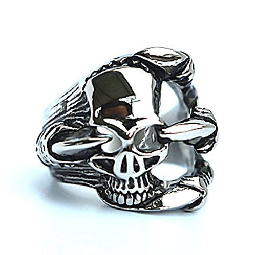 mens-stainless-steel-finger-rings-gothic-casted-skull-biker-white-cz-black-silver-24cm-size-p-1-2