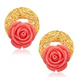 Sukkhi Classic Gold Plated Earrings For Women