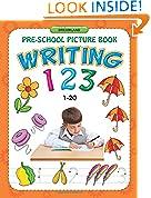 #10: Writing 123 (1-20) (Pre-School Picture Books)