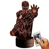 Stuff4Players Iron Man Dekolampe Dissolves (3D-Hologramm Illusion)