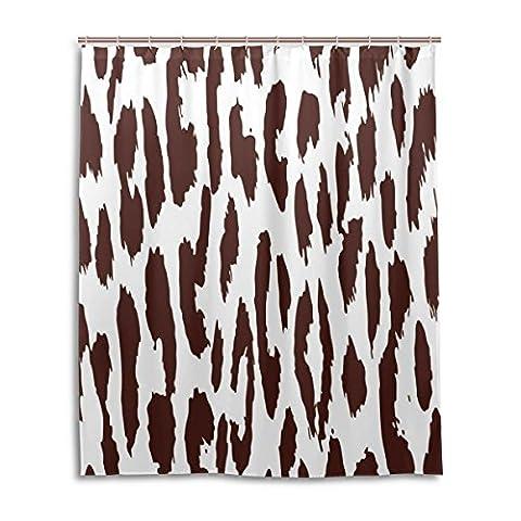Zoeo Rideau de douche de bain 60x 72Inchblue Ocean Nature Paysage magique livre imperméable à l'eau Tissu de polyester Rideau de salle de bain