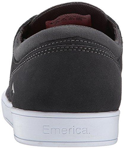 Emerica The Figueroa, Skateboard homme grey/white/gum
