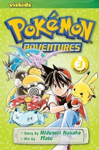 Pokémon Adventures, Vol. 3 (2nd Edition) by Hidenori Kusaka (2009) Paperback