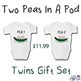 Two Peas In A Pod Newborn Twins Set | New Baby Gifts (NEWBORN)