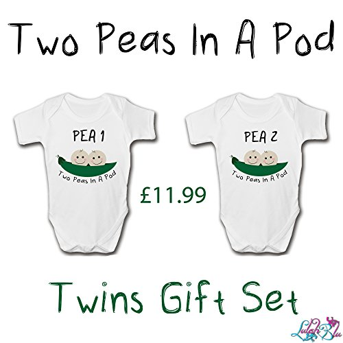 Two Peas In A Pod Newborn Twins Set | New Baby Gifts (NEWBORN)