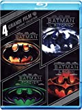 4 Grandi Film: Batman Collection (4 Blu-Ray) [Import italien]