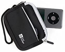 Duragadget Apple Ipod Case - Premium Quality Black Neoprene Carry Case For The Apple Ipod Classicipod Nano