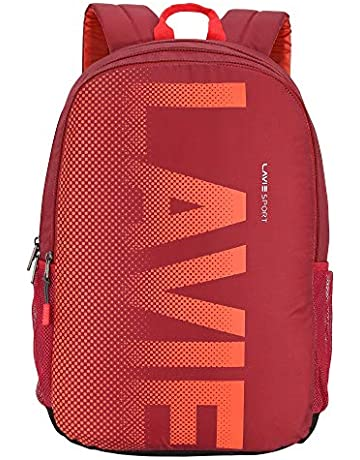 Lavie Sport 34 Ltrs Red School Backpack (BDEI210041N4)