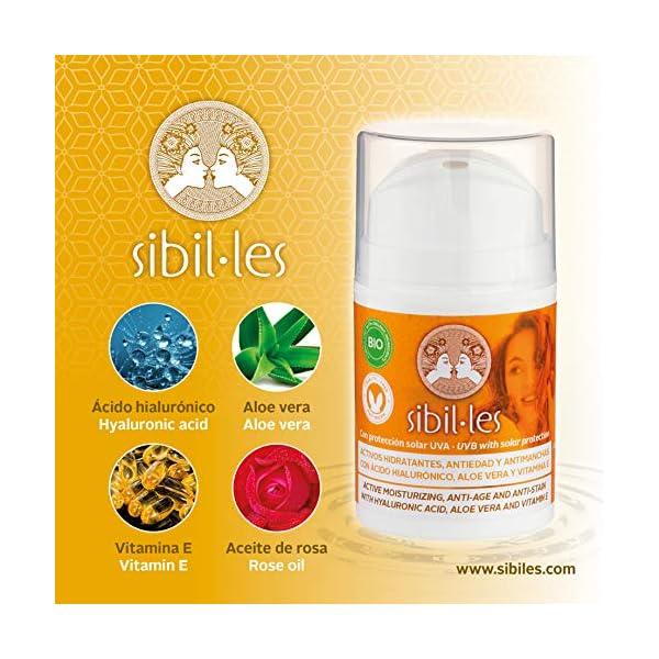 Mariola – Crema Facial Hidratante Anti-Edad/Manchas/Arrugas con Protección Solar, Aloe Vera, Ácido Hialurónico y…